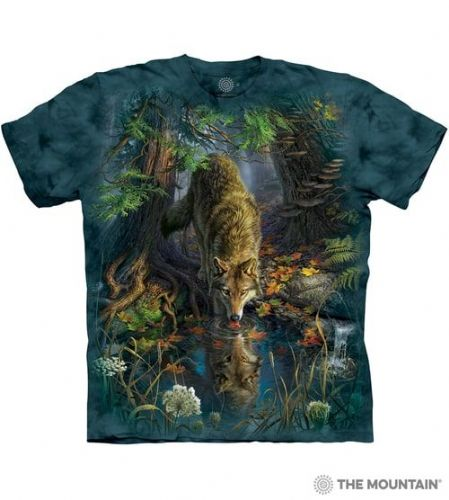 Enchanted Wolf Pool T-shirt | The Mountain®